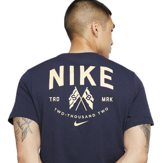 Remera Nike Sb Flags Hombre Manga Corta Nike Sb