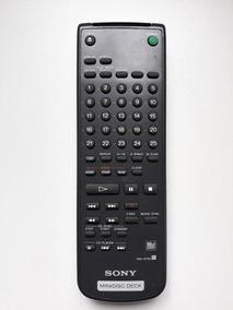 Controle Remoto Sony Rm-d7m Minidisc Deck