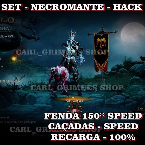 Diablo 3 - Ps4 - Kit Necromante Imortal - Speed Perfeita