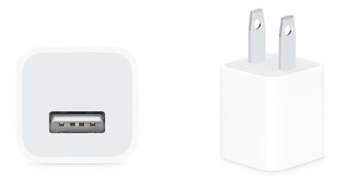 Cubo Cargador iPhone 6/7/8/x/xr/xs Max/11 Usb 5w Original
