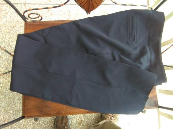 Pantalón Para Dama Nuevo Azul Uniforme Liceo Talla 8