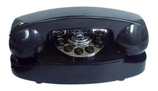 Paramount 1959 Princess Phone Black Computers,