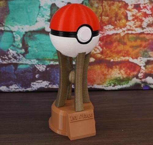 Troféu Pokémon Go Personalizado 21cm
