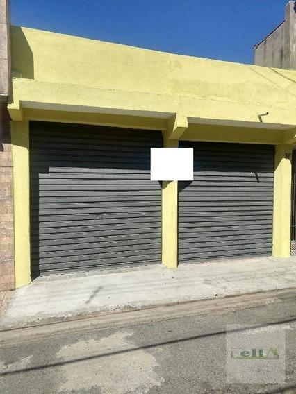 Salão Comercial Para Locação, Conjunto Habitacional Presidente Castelo Branco, Carapicuíba. - Sl0009