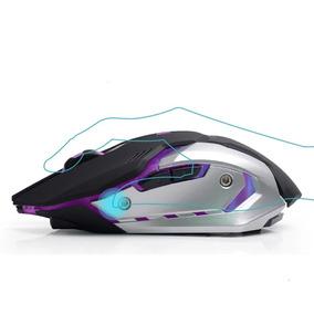Mouse Gamer Sem Fio Silencioso Recarregavel 6 Botoes 2.4gh