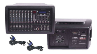 Blg Consola Potenciada 8 Canales 300 Watts Usb Mc82150-pc Bt