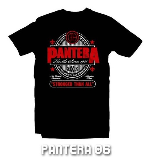 Playeras Pantera - 9 Modelos Disponibles