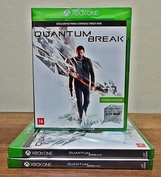 Quantum Break Xbox One Novo Lacrado Mídia Física Cd