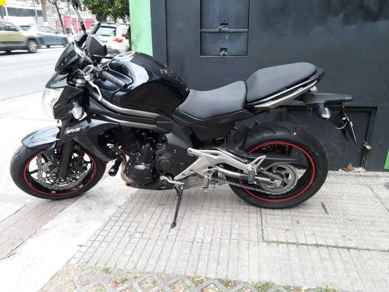 Kawasaki Er 6n 2013 Preta Abs