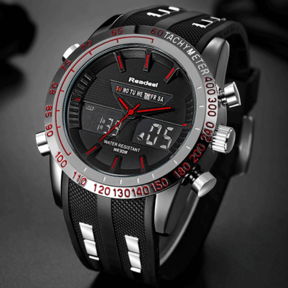 Relógio Readeel Dual Time Masculino Prova D