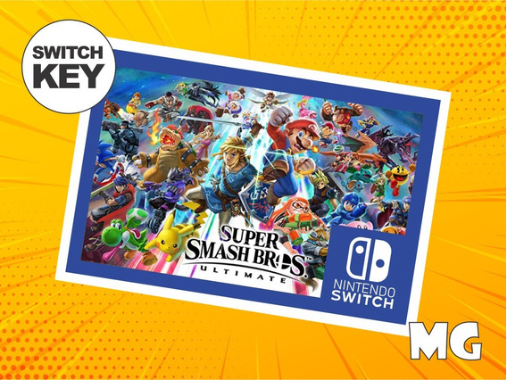 Super Smash Bros Ultimate - Jogo Nintendo Switch Digital