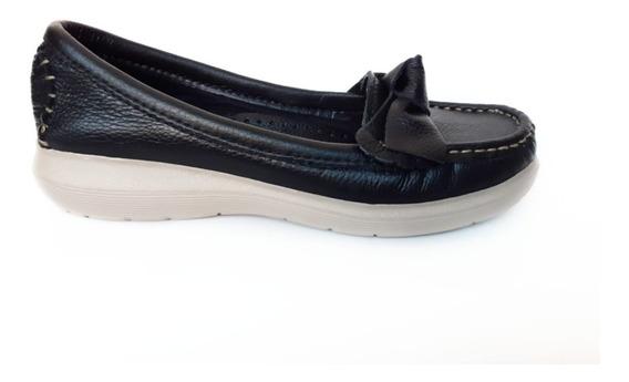 Mocasin Mujer Zapatos Liotta Cuero Vacuno #372