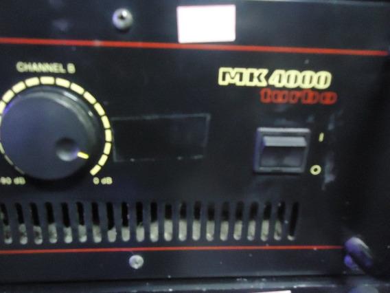 Potência Mark Audio Mk4000 Turbo Usada