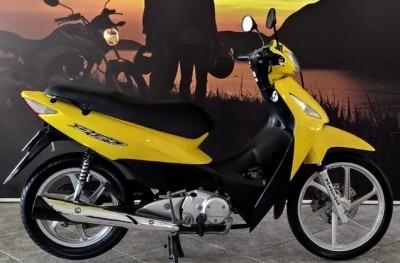 Motocicleta Honda Biz 125+ 2007 Amarela