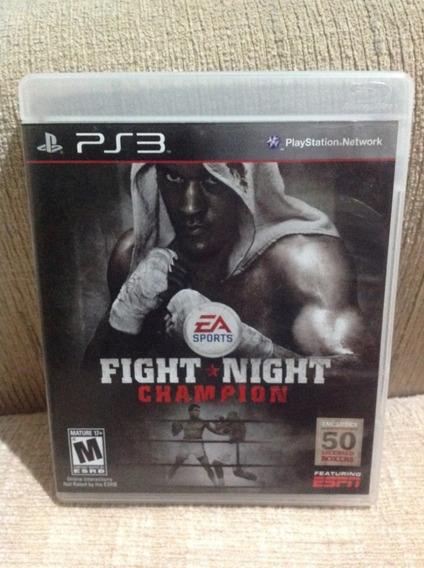 Jogo Ps3 Mídia Física - Fight Night Champion