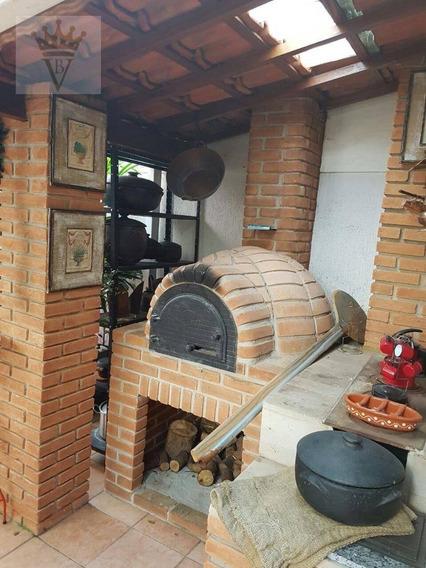 Casa Com 3 Dormitórios À Venda, 250 M² Por R$ 980.000 - Horto Florestal - São Paulo/sp - Ca0406