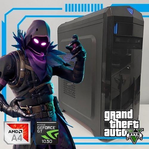 Pc Gamer Gt1030 Amd A4-7300 8gb Ram Hd 1tb Computador Gamer