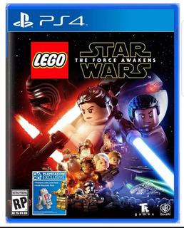Juego Ps4 Lego Star Wars The Force Awakens Nuevo Sellado