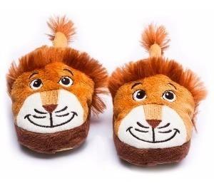 Pantufa Infantil Leão - Tamanho G - Sonho De Luz