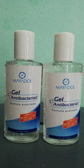 Gel Antibacterial Para Manos Desinfectante 2 Pzas 125 Ml C/u