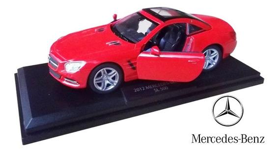 Mercedes Benz Sl500 2012 - Deportivos De Leyenda Metal 1/36