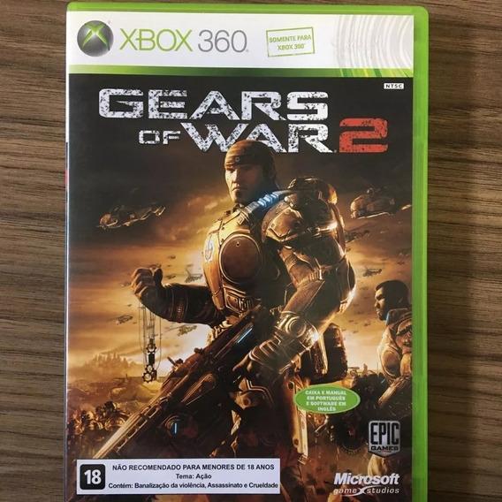 Xbox 360 Gears Of War 2 Semi-novo/mídia Física/original