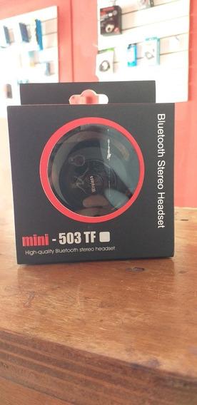 Fone Bluetooth Mini - 503 Tf