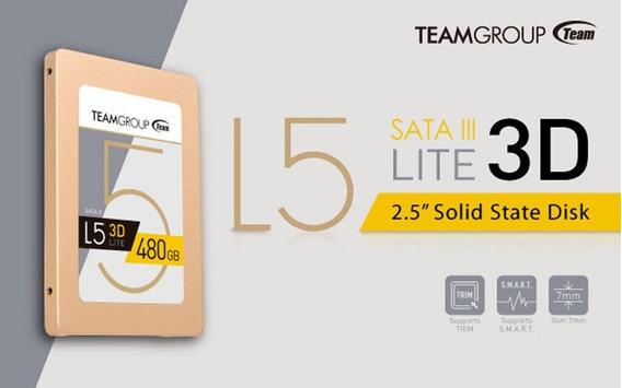 Ssd Teamgroup 480gb L5 3d Sata Iii T253td480g3c101