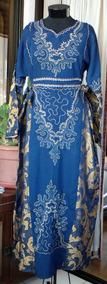 Vestido Bordado Brocato Indu Tunica M/l