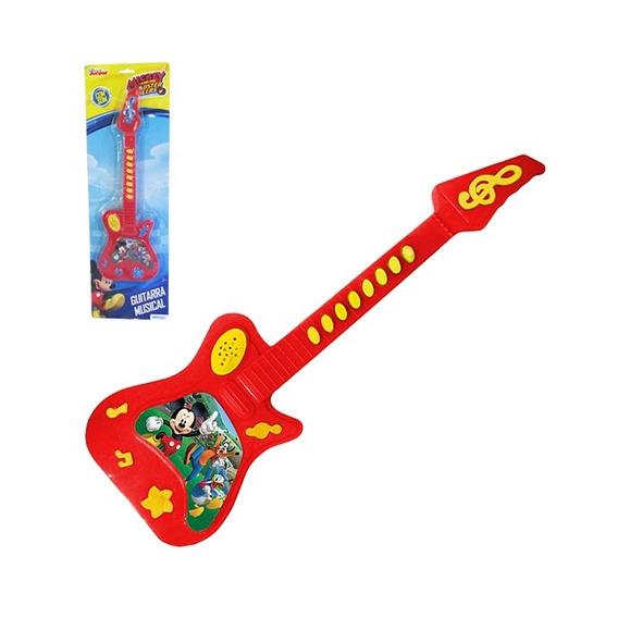 Violão Guitarra Musical Mickey Mouse Disney Infantil Criança