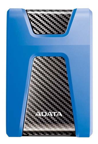 Imagen 1 de 3 de Disco duro externo Adata DashDrive Durable HD650 AHD650-1TU3 1TB azul