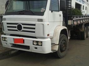 Caminhão Vw 17220 C/ Carroceria 6x2 Motor Já Feito 2001