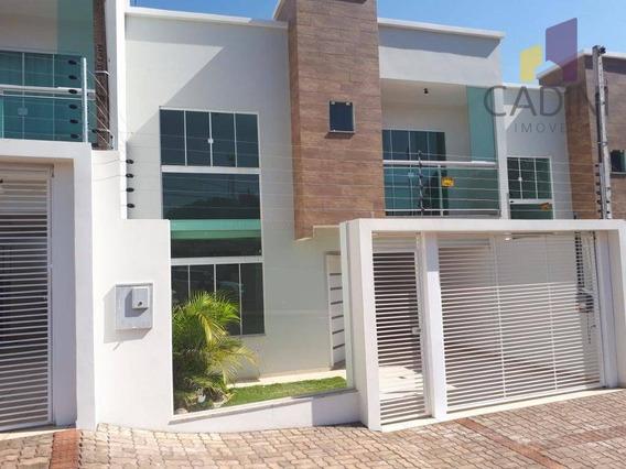 Sobrado Residencial À Venda, Parque São Paulo, Cascavel. - So0068