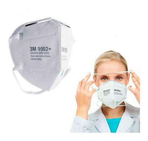 Barbijo Respirador Mascarilla 3m Kn95 N95 Ambas Cert. X 10un
