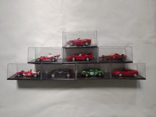 8 Carros Da Ferrari Em Miniatura Colecionáveis - Eaglemoss
