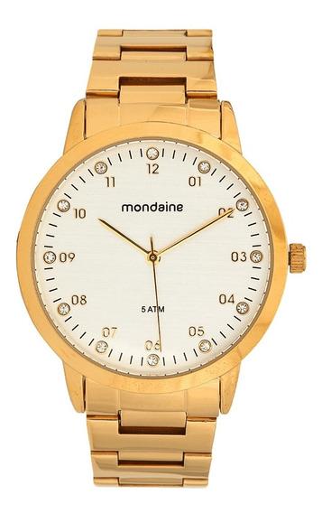 Relógio Mondaine Feminino 76590lpmvde1 Dourado