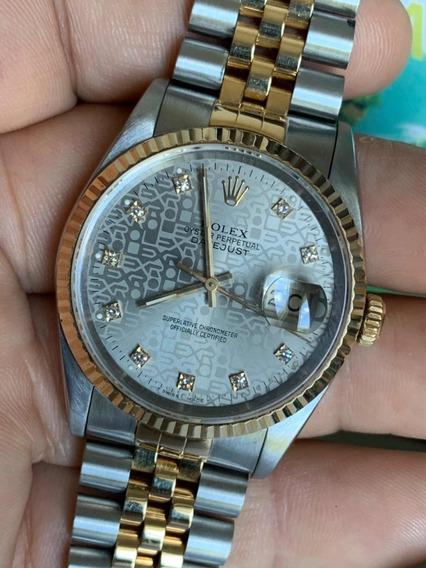 Rolex Datejust Diamantes Acero Oro Cambio Rapido Zafiro Sub