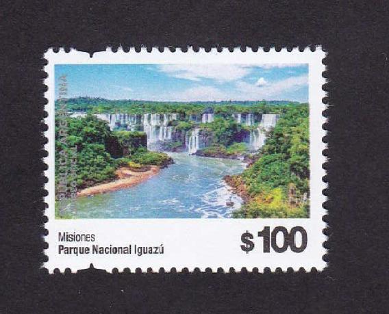 Correo Argentino 2019 Parque Nacional Iguazu 100 Pesos Mint