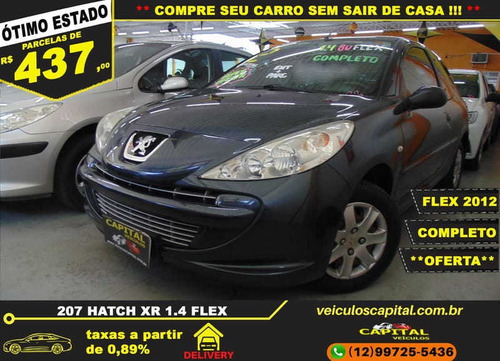 Imagem 1 de 12 de Peugeot 207 Hatch Xr 1.4 8v Flex 2p