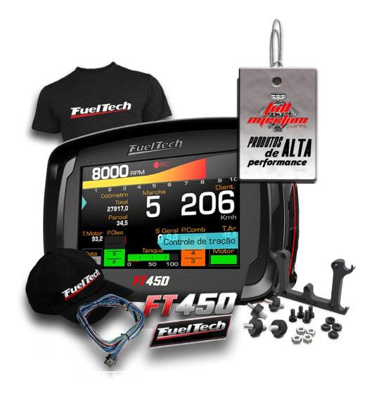 Fueltech Ft450 Com Chicote 3m + Brindes Pronta Entrega