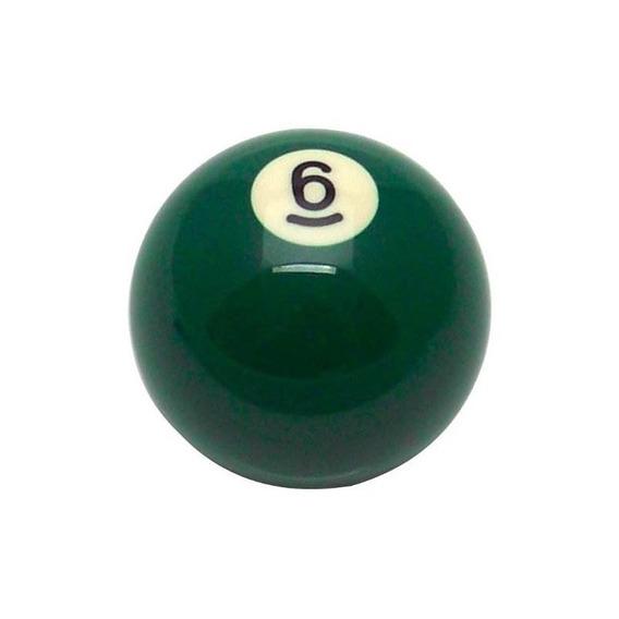American Shifter 96051 Verde Sólido 6 Bolas Billar Pool Shif