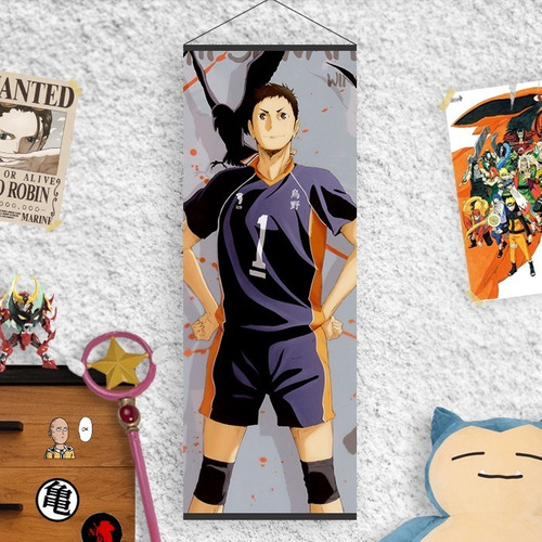Imagen 1 de 3 de Lona De Haikyuu Daichi Sawamura - Animeras