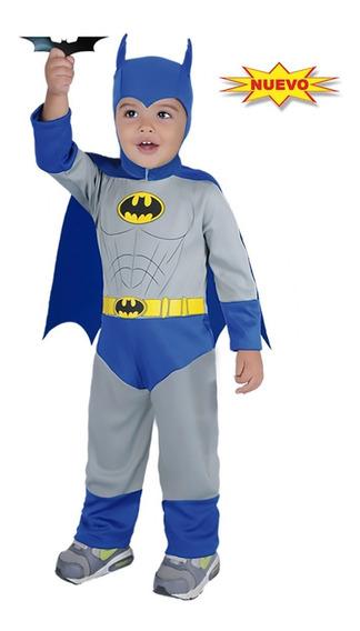 Disfraz Niño Bebe Batman Talla 12-18 Mes Carnivalito 10verde