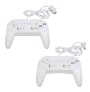 Zettaguard 2 Pack Controller Blanco Para Wii, Consola Clasic