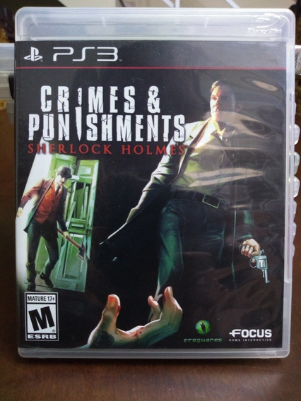Sherlock Holmes Crimes & Punishments Ps3