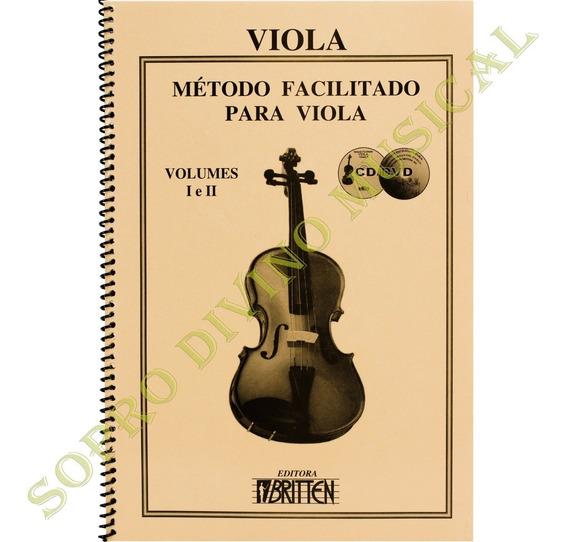 Método Facilitado Viola Volume 1 E 2 Cd Dvd Nadilson Gama