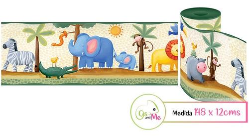 Vinilos Decorativos Infantiles Cenefa 1,48mts Personalizado