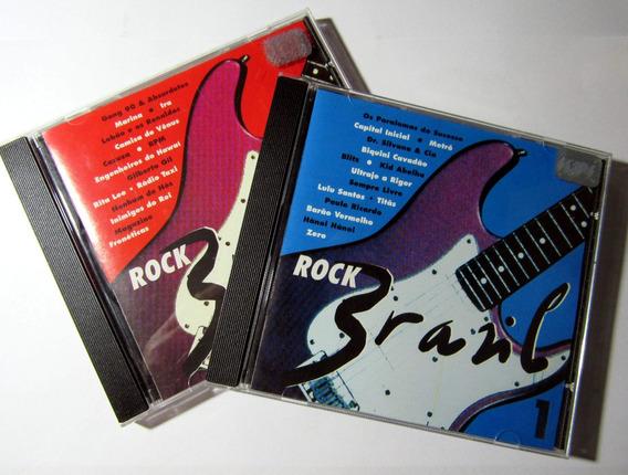 Cd Rock Brasil Anos 1980/90 Dois Cds