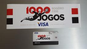 Ingresso + Adesivo 1000 Jogos Rogério Ceni