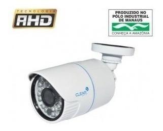 Kit C/ 2 Cameras De Segurança Hd Clear Cftv 24leds